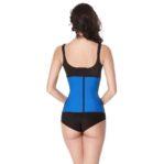 Blauwe waist trainer